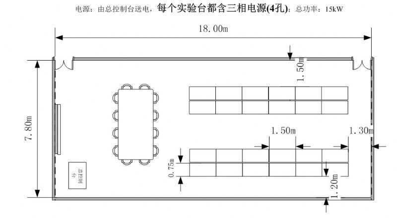 电工电子实训室建设方案==>陕西航空职业技术学院