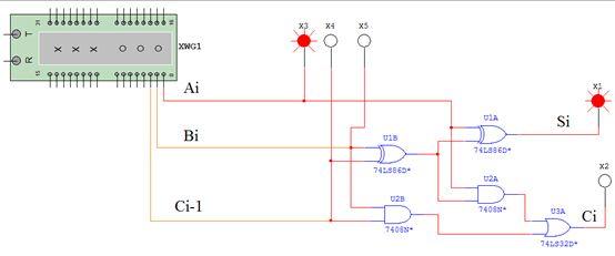 74ls138全加器接线图